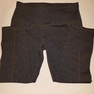 "SM prAna ""Breathe"" Capri Crop Yoga Pants"